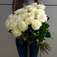 Букет 15 высоких роз R026